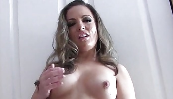 Blowjob cock for carmen valentina  she is going to make you